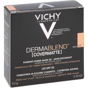 VICHY DERMABLEND Covermatte Puder 45