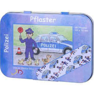 KINDERPFLASTER Polizei Dose