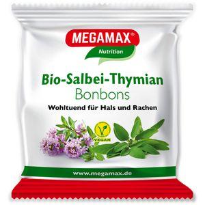MEGAMAX Bio Salbei-Thymian Bonbons