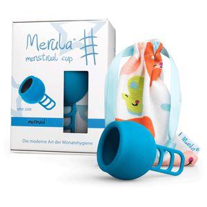 MERULA Menstrual Cup mermaid blau