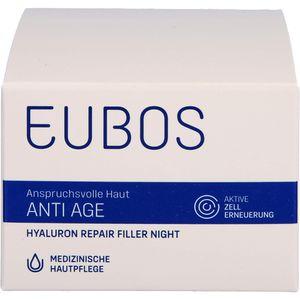EUBOS HYALURON Repair Filler night Creme