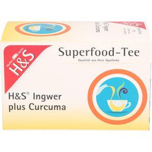 H&S Ingwer plus Curcuma Filterbeutel