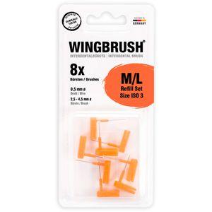 WINGBRUSH Refill-Set Interdentalb.ISO 3 med./large
