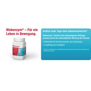 WOBENZYM magensaftresistente Tabletten