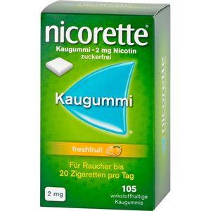NICORETTE 2 mg freshfruit Kaugummi