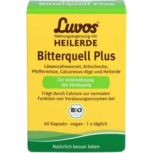 LUVOS Heilerde Bio Bitterquell Plus Kapseln