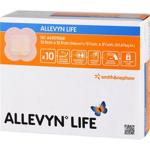 ALLEVYN Life 12,9x12,9 cm Silikonschaumverband