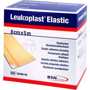 LEUKOPLAST Elastic Pflaster 8 cmx5 m Rolle