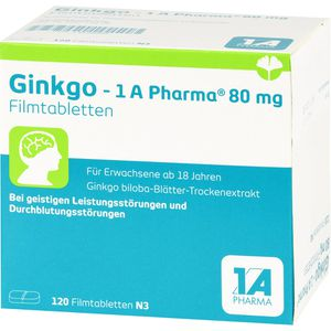 GINKGO-1A Pharma 80 mg Filmtabletten