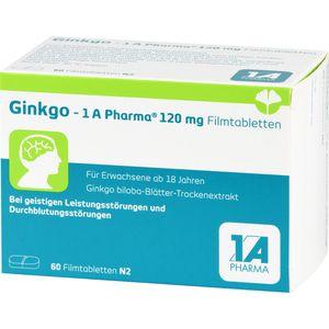 GINKGO-1A Pharma 120 mg Filmtabletten