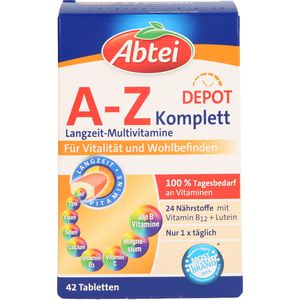 ABTEI A-Z Komplett Tabletten