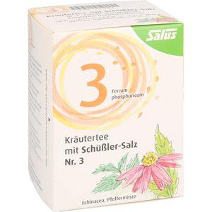 KRÄUTERTEE mit Schüssler-Salz Nr.3 Salus Fbtl.