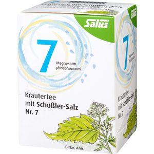 KRÄUTERTEE mit Schüssler-Salz Nr.7 Salus Fbtl.