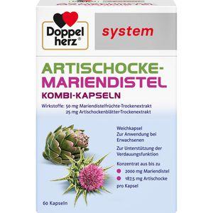 DOPPELHERZ Artischocke-Mariendistel system Weichk.