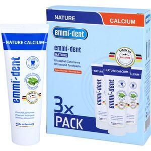 EMMI-DENT Ultraschall Zahncreme nature Set