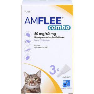 AMFLEE combo 50/60mg Lsg.z.Auftropfen f.Katzen
