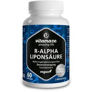R-ALPHA-LIPONSÄURE 200 mg hochdosiert vegan Kaps.