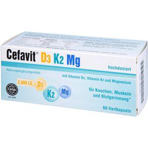 CEFAVIT D3 K2 Mg 2.000 I.E. Hartkapseln