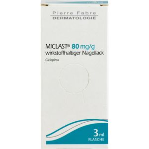 MYCOSTER 80 mg/g wirkstoffhaltiger Nagellack