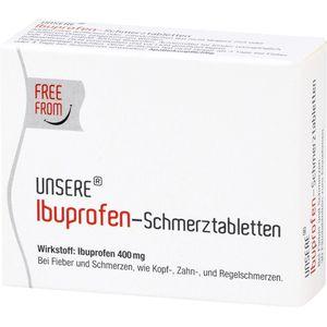 UNSERE Ibuprofen-Schmerztabletten