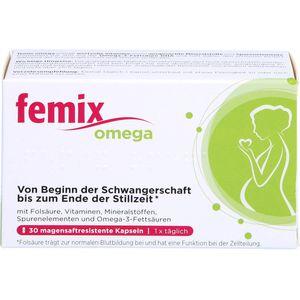 FEMIX omega magensaftresistente Weichkapseln