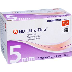 BD ULTRA-FINE Pen-Nadeln 5 mm 31 G