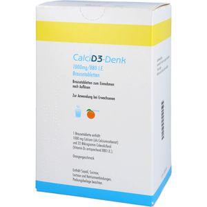 CALCI D3-Denk 1.000 mg/880 I.E. Brausetabletten