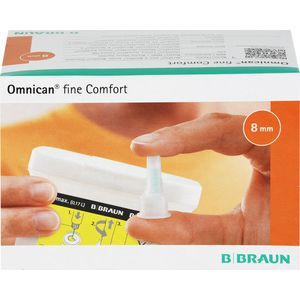 OMNICAN fine Comfort Pen Kanüle 31 Gx8 mm a 100 St