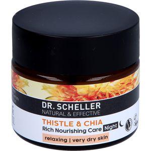 DR.SCHELLER Distel&Chia reichhaltige Pflege Nacht