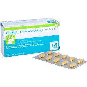 GINKGO-1A Pharma 240 mg Filmtabletten