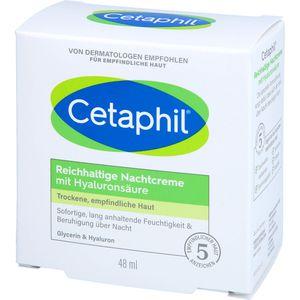 CETAPHIL reichhaltige Nachtcreme mit Hyaluronsäure