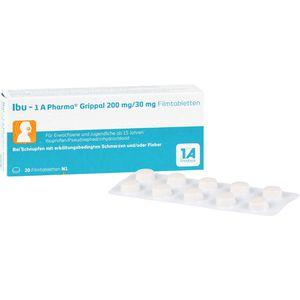 IBU-1A Pharma Grippal 200 mg/30 mg Filmtabletten