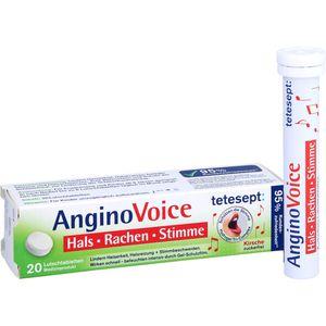 TETESEPT AnginoVoice Hals Rachen Stimme Lutschtab.