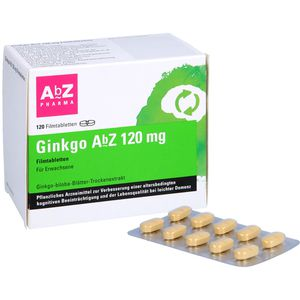 GINKGO ABZ 120 mg Filmtabletten