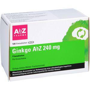 GINKGO ABZ 240 mg Filmtabletten