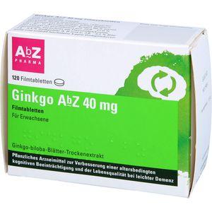 GINKGO ABZ 40 mg Filmtabletten