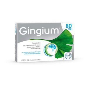 GINGIUM 80 mg Filmtabletten
