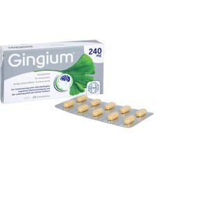 GINGIUM 240 mg Filmtabletten