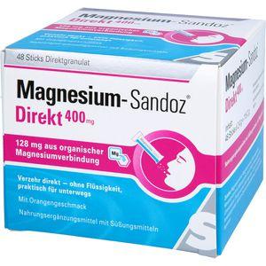 MAGNESIUM SANDOZ Direkt 400 mg Sticks
