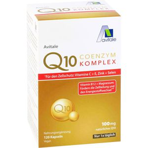 COENZYM Q10 100 mg Kapseln+Vitamine+Mineralstoffe