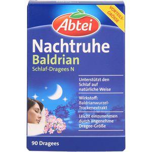 ABTEI Nachtruhe Baldrian Schlaf-Dragees N