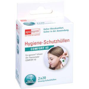 APONORM Fieberthermometer Ohr Comfort Schutzhüllen