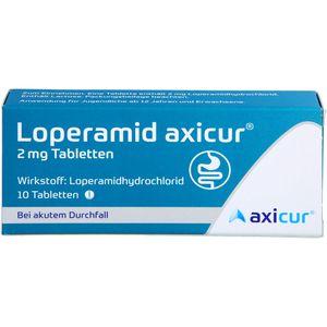 LOPERAMID axicur 2 mg Tabletten