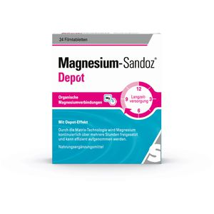 MAGNESIUM-SANDOZ Depot Filmtabletten