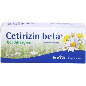 CETIRIZIN beta Filmtabletten
