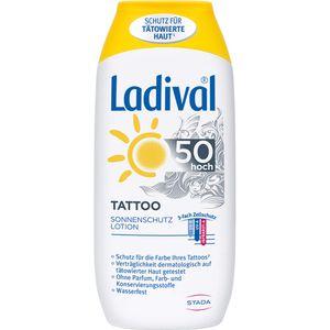 LADIVAL Tattoo Sonnenschutz Lotion LSF 50