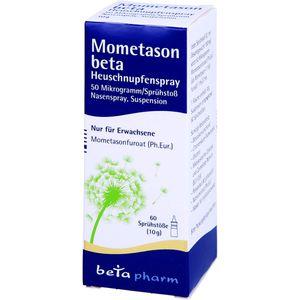 MOMETASON beta Heuschnupfenspray 50μg/Sp.60 Sp.St