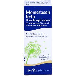 MOMETASON beta Heuschnupfenspray 50μg/Sp.140 Sp.St
