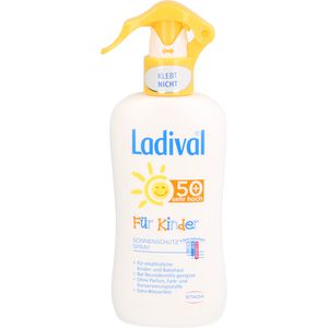 LADIVAL Kinder Sonnenschutz Spray LSF 50+