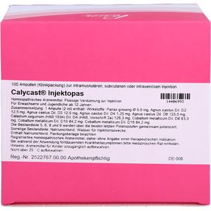 CALYCAST Injektopas Ampullen